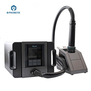 QUICK TR1300A Hot Air Station 1300W Intelligent Soldering Station for Mobile Phone Motherboard Repair Digital Welding Station