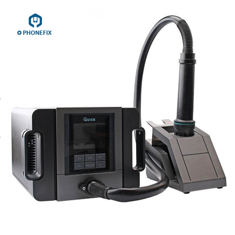 QUICK TR1300A Hot Air Station Professional Intelligent Soldering Station for Mobile Phone Motherboard Soldering Station