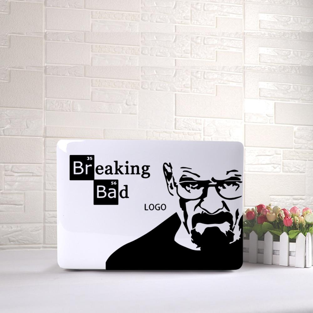 Exquisite Breaking Bad Laptop Sticker Pattern Vinyl For Macbook Air Laptop Skin Decoration
