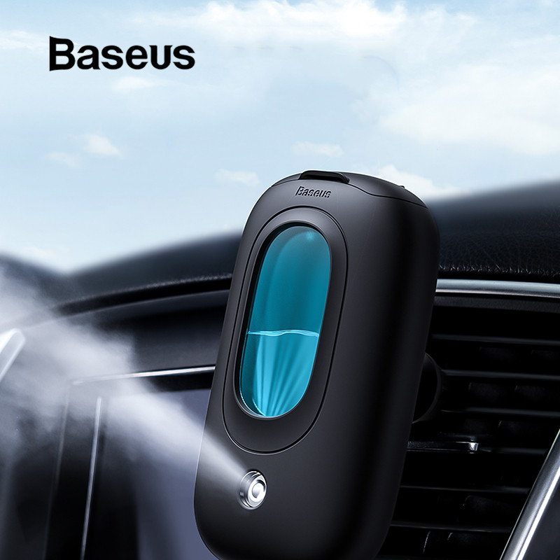Baseus Car Air Humidifier Portable Diffuser With Magnetic Car Air Vent Mount Holder Aromatherapy Air Freshner Mini Air Purifier