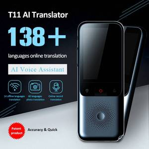Image 1 - T11 Smart Instant Translator 138 Languages Online Offline Dialect Real time Voice Recording Translation HD Noise Reduction