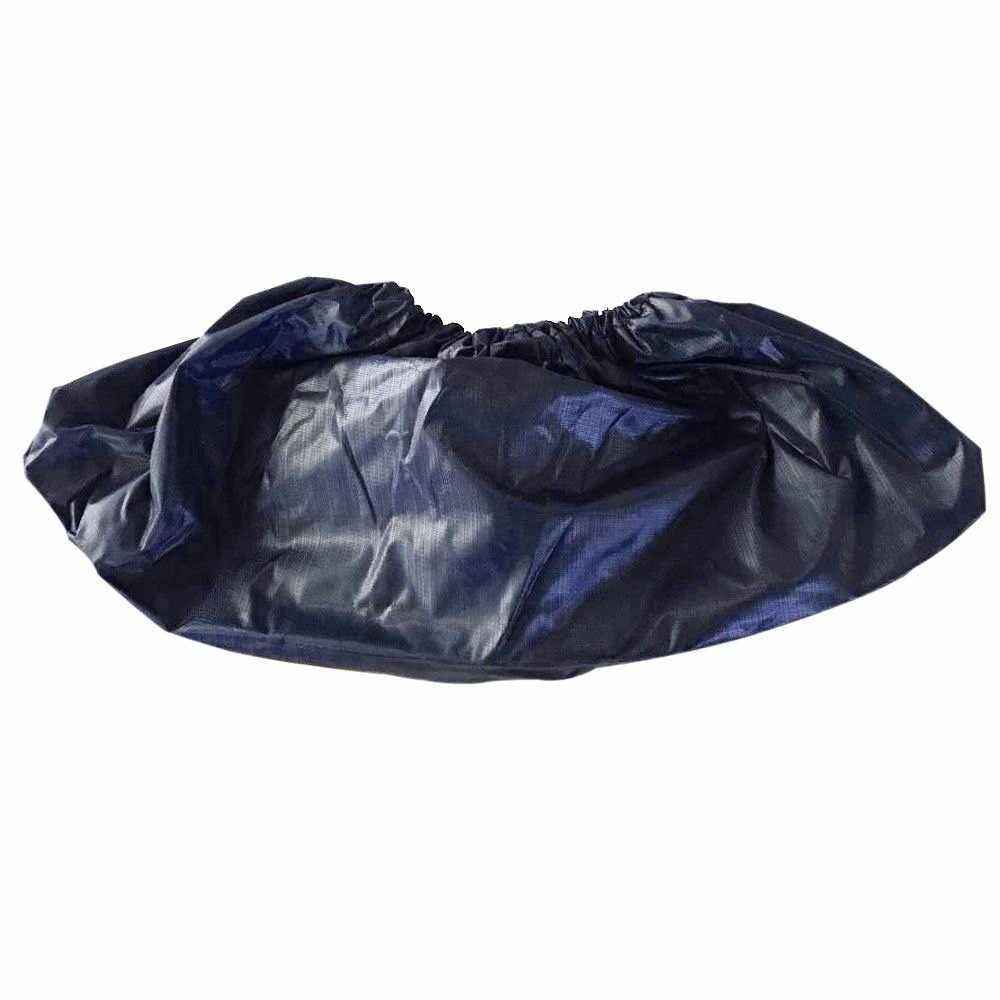 Dapat Digunakan Kembali Unisex Rain Overshoes Tahan Air Anti-Slip Penutup Sepatu Boot untuk Aksesoris Sepatu Wanita dan Pria