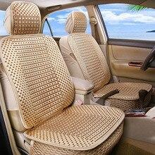 KANGLIDA Luxus Auto Sitzkissen Hand-woven Eis Seide Auto Sitz Abdeckung Sommer Vordersitz Universal Auto Sitzkissen 1 stück