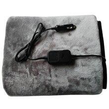 Автомобильное одеяло с подогревом, электрическое одеяло с подогревом, одеяло для путешествий, 12 В, одеяло с подогревом
