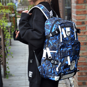 Image 4 - Fashion Backpack Waterproof Nylon Women Backpack Unisex Laptop Antitheft Design Teenage Girl Female School Backapck Mochilas