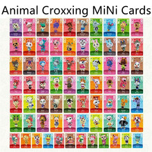 Hot Sale 72Pcs/Set Whitney Maple Animal Croxxing Card Mini NFC New Horizon Tag Ntag215 Game Card For Switch/Switch Lite/Wii