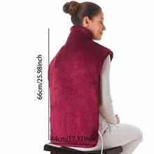 Фланелевая обертка для облегчения здоровья, шеи, плеч, спины, тепловая подушка, терапия мышц, обезболивающая подушка, Массажная теплая обертка, Домашний Массажер