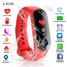 2019 New Smart Bracelet Men Women Heart Rate Monitor Blood Pressure Fitness Tracker Smartband Sport watch for ios android +BOX hold mi f07 waterproof smart bracelet heart rate monitor blood pressure fitness tracker smartband sport watch for ios android