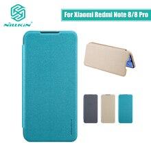 For Xiaomi Redmi Note 8 Pro case cover 6.53 NILLKIN for xiaomi redmi note 8 case cover 6.3 Sparkle flip cover PC back cover