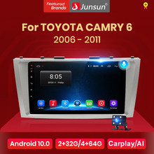 Junsun V1 Android 10 AI Voice Control DSP 4G Auto Radio Multimedia Navigation GPS Für Toyota Camry 6 40 50 2006-2011 keine 2 din dvd