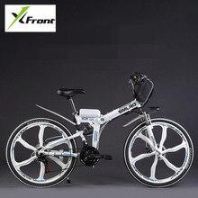 Authentic X-Entrance model 48V 350W Lithium Battery Electrical folding Mountain Bike Electrical Bicycle downhill Biking ebike