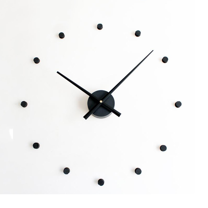 3D DIY Wall Clock Large Size Clocks Sticker Home Decoration Accessories Modern Design Big Wall Watch For Living Room Quartz