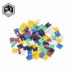 600 шт 6 цветов каждый цвет 100 шт 2,54 мм стандартная печатная плата Перемычка крышка короткого замыкания