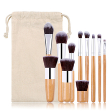 Makeup Brushes Set 11 Pcs Beauty Tools Make Up Brush Sets Blush Eye Shadow Foundation Eyebrow Nasal Eyeliner Brush Etc. Cosmetic недорого