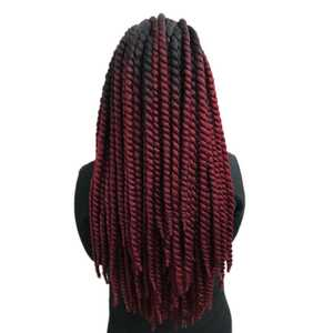 Jumbo Braids Crochet Havana Twist Stretched-Length Synthetic-Hair Ombre 12strands/pc
