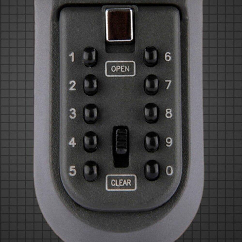 Electronic In Safe Box Iron Wall Hanging Key Code Lock Thickening Metal Key Box Housekeeper Secret Box Secret Hiding