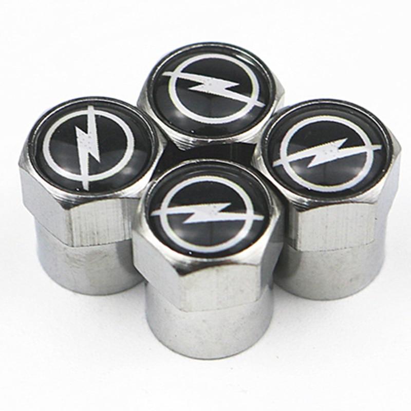 Excellent New Car Tire Valve Caps Case For OPEL Corsa Insignia Astra Antara Meriva Zafira Accessories