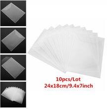 10 шт/лот 2 типа большие карманы для штампов и пластиковый лист