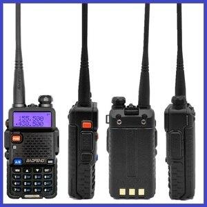 Image 4 - Мощная рация Baofeng UV 5R 8 Вт портативная любительская радиостанция двухдиапазонный УФ 5R Ham CB радиоприемопередатчик для охоты 10 км
