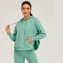 Женский новый комплект для йоги спортивный бюстгальтер пальто