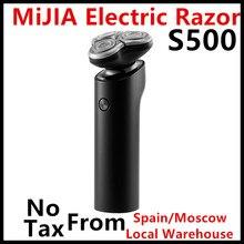 מקורי Xiaomi Mijia חשמלי מכונת גילוח S500 גילוח 3 ראש יבש רטוב גילוח מכונה זקן גוזם רחיץ להב LED תצוגה