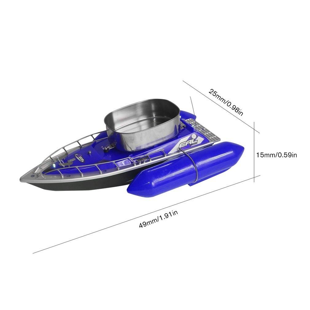 EAL T10 RC Boot Intelligente Draadloze Elektrische Visaas Afstandsbediening Boot Vis Schip Zoeklicht Speelgoed Geschenken Voor Kinderen - 6