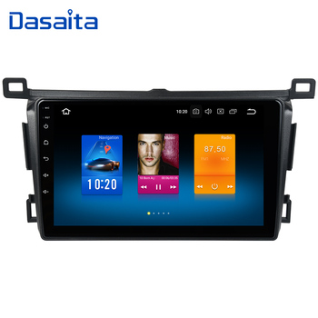 Dasaita 9 IPS 2.5D Android 10.0 RHD Autoradio for Toyota RAV4 Multimedia 2014 2015 2016 2017 2018 Build-in GPS Navigation image