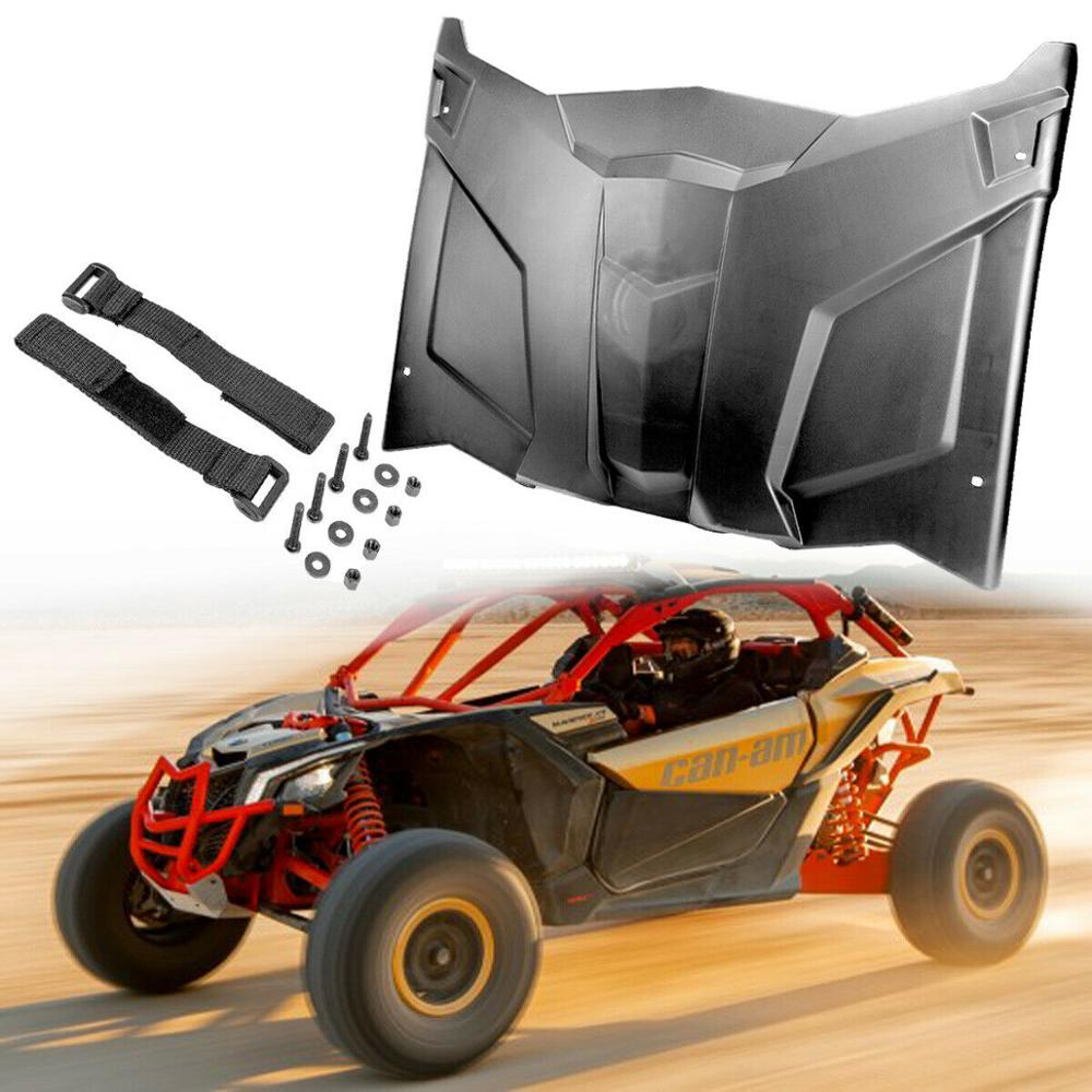 UTV PP Hard Top Roof Cover Case Waterproof Sun Shade 51.5 Inch For Can-Am Maverick X3 2017-2019 2018