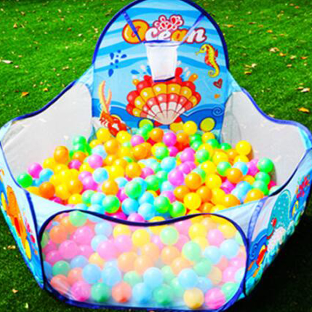 Foldable Children CrawlingChildren Ocean Ball Pool Pit  Into Pool Ocean Portable  Ball Game Pool Toys for Baby Activity