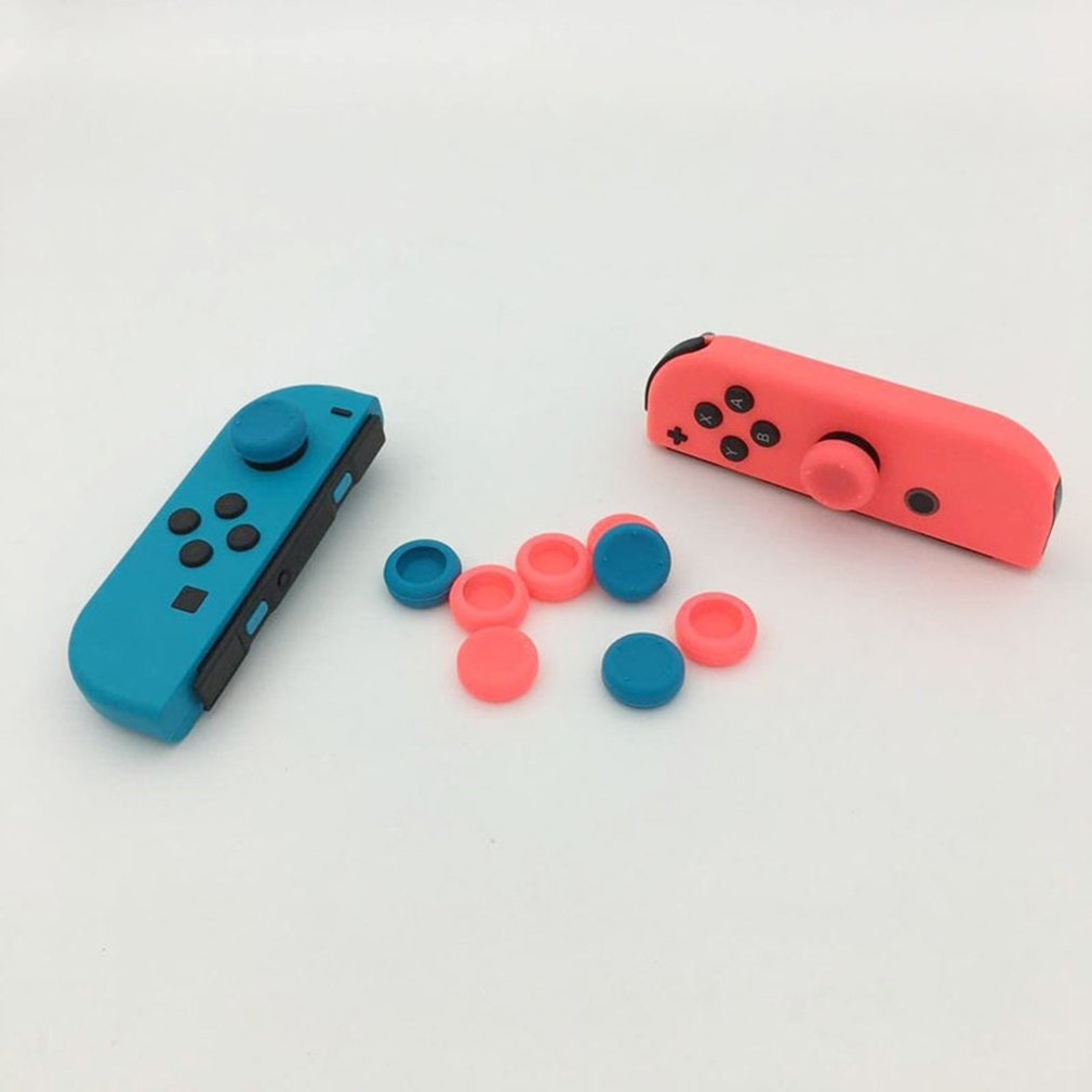 For Joy Con Silicone Joystick Thumb Stick Grip Cover Case Analog Caps For Nintend Switch Ns Joy-con Controller