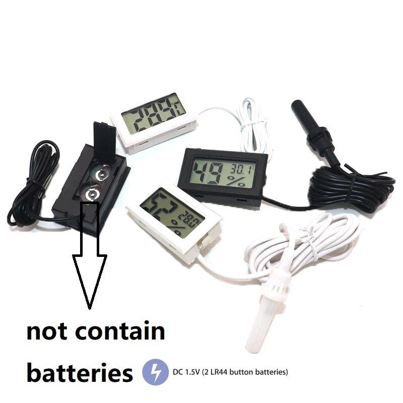 Купить цифровой мини термометр с жк дисплеем комнатный удобный датчик