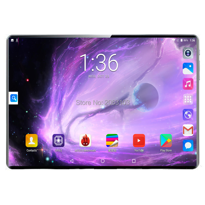 2020 New 10 Inch Deca Core 3G 4G Tablet 8GB RAM 128GB ROM Dual Cameras Android 9.0 Tablet 10.1 Inch Free Shipping