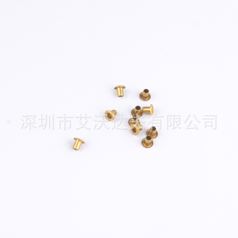 Copper Corn Eyelet Manufacturers Direct Selling 4.5X2X4 Mm Copper Corn Tong Qi Yan Dwarf Easy To Use No Deformation