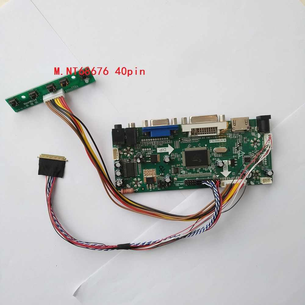 HDMI DVI VGA LED LCD LVDS Controller board Kit display voor 40pin LP156WH2 (TL) (E1) /LP156WH2 (TL) (EA) 1366X768 monitor