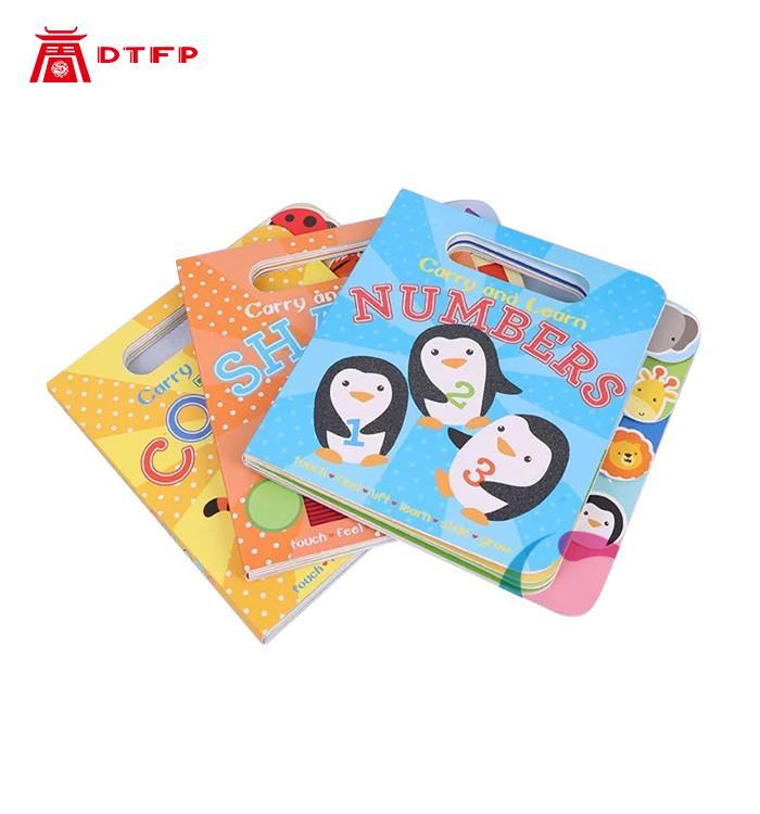 Child Book Kids Children English Short Story Round Corner Color Board Book Children Board Book Printing Service