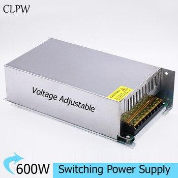 Single output power supply 600W AC-DC 12V 50A 24V 25A 30V 36V 48V 60V 70V 80V 90V 100V 110V 120V LED SMPS CCTV charger