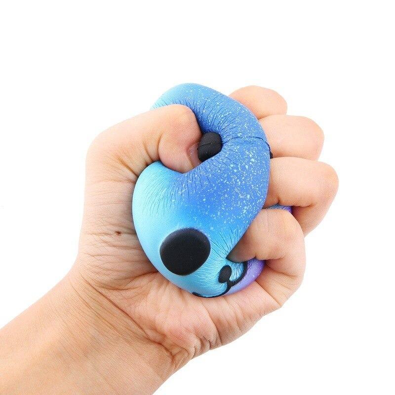 Unicorn Squishy Toys Squeeze Anti-Stress Animal Children Kawaii Gift Slow Rising Reliever img5