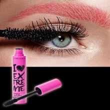 Curling Thick Lengthen Fiber Mascara Curly Silicone Brush MascaraLong Lasting Sweat Proof Natural Makeup