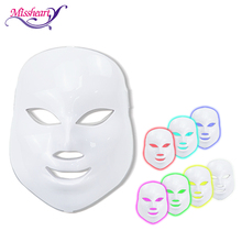LED Facial Mask Skin Rejuvenation Anti Wrinkle Acne Photon Therapy Salon Tools Repair Skin Allergies Dropshipping