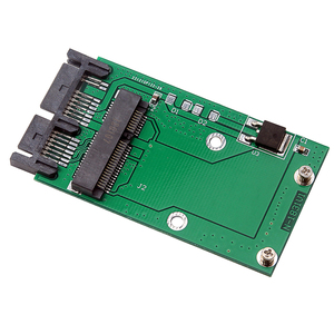mSATA SSD to 1.8 Inches 16pin Micro SATA Adapter Card for Computers PC