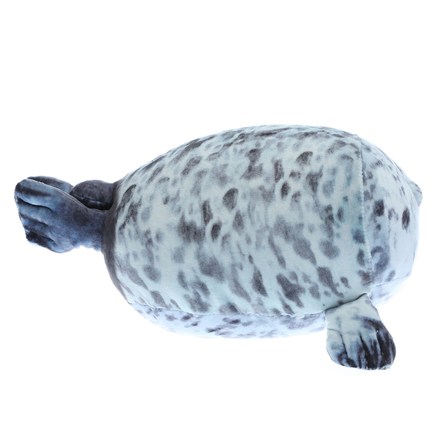 1pc soft 35-60cm Soft Sea Lion Plush Toys Sea World Animal Seal Plush Stuffed Doll Baby Sleeping Pillow Kids Girls Gifts 2