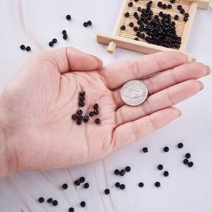 Image 4 - 450g 6/0 8/0 12/0 Colori Opachi Rotondo di Vetro Semi di Micro Monili Che Fanno FAI DA TE Allentato Piccolo Perle di 2 millimetri 3mm 4 millimetri