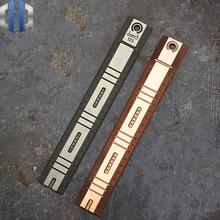 TC4 Titanium Alloy Ruler 20cm Range Student Stationery Triangle Measurement Tool Drawing EDC
