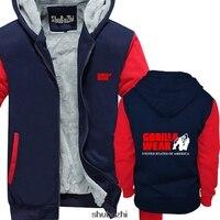 Men's Casual Gorilla Wear Muscle USA hoodie Blouse Cool Casual pride hoodie men Unisex New shubuzhi sweatshirt sbz3058
