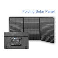 Folding Solar Panel 150w 20v Foldable Solar Panels Kit for Camping Car Home Portable Solar System