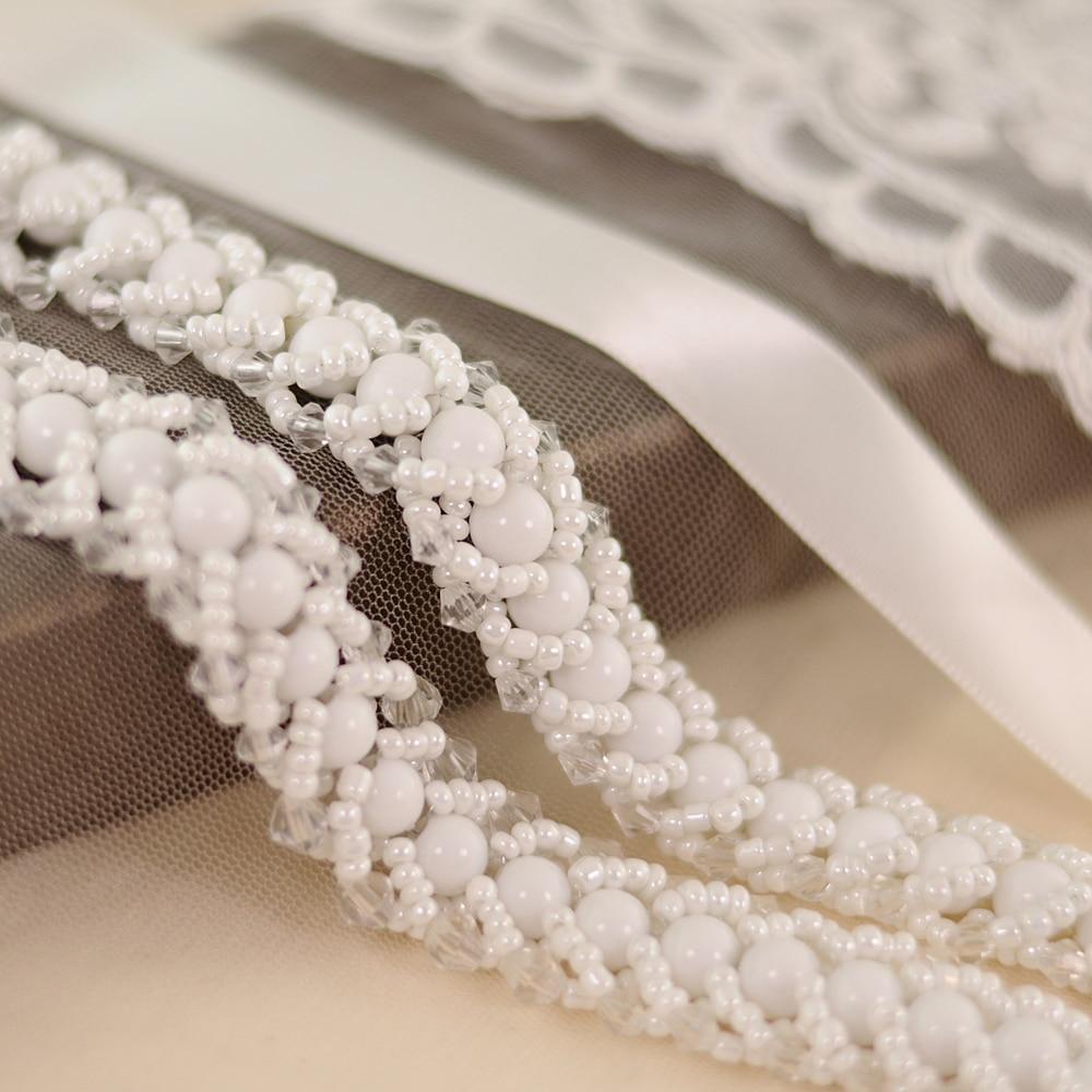 TRiXY S322  Women's Beading Wedding Belt Rhinestones Bridal Belt Beading Bridal Sash For Wedding Accessories Belt