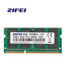 Zifei ram ddr3 2gb 4gb 8gb 1066mhz 1333mhz 1600mhz 204pin SO-DIMM módulo de memória do caderno para o portátil