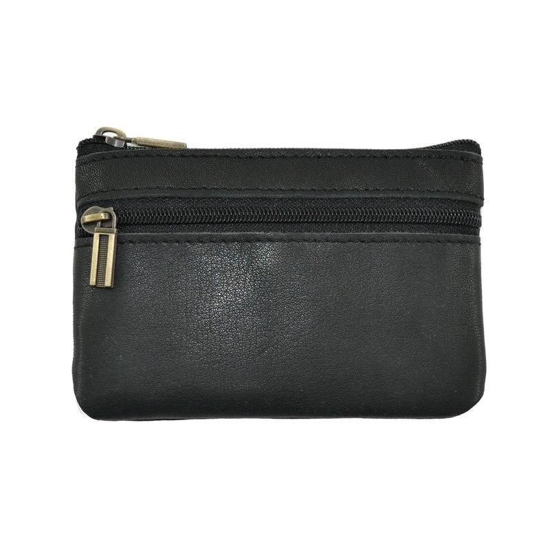 Designer pour homme en cuir véritable portefeuille carte de crédit titulaire cadeau sac à main pochette monnaie