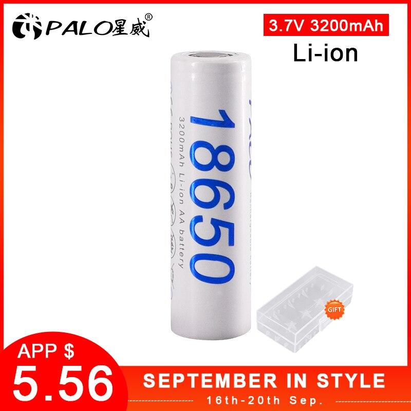 PALO 100% original PALO nouveau DBHE41865 3200mAh batterie au Lithium 18650 3.7V puissance batteries rechargeables pour batterie de lampe de poche