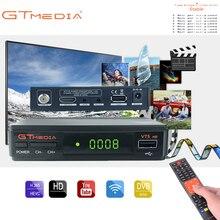 цена на Gtmedia V7S DVB-S2 Satellite tv receiver Freesat v7 Support PowerVu,DRE Biss key Spain Europe Cline For 1 Year
